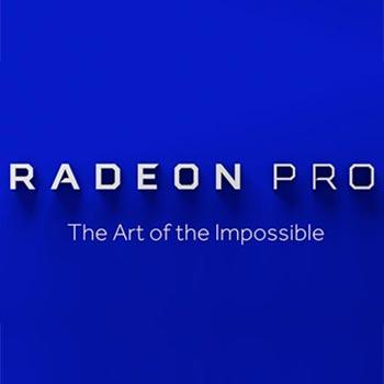 کارت گرافیک های Radeon Pro از شرکت AMD