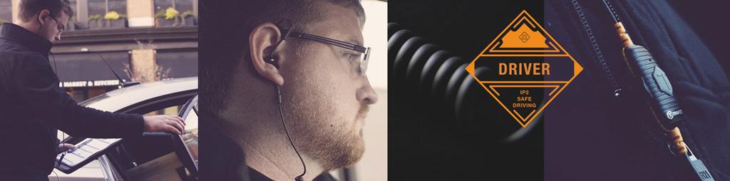 هدفون تاف تستد مدل Driver Headphones-Safe Driving Mono