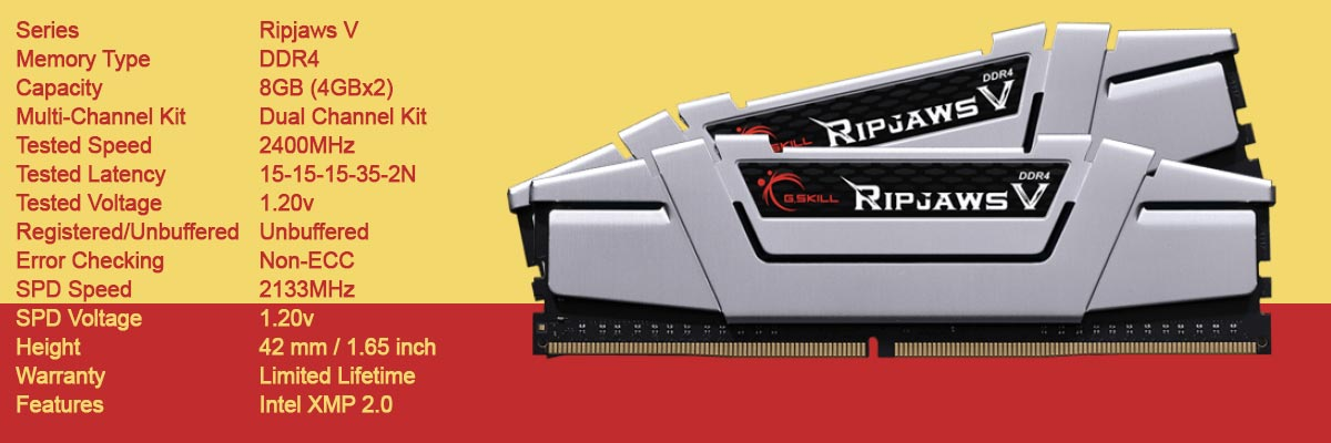 gskill-ripjaws-v-8gb-4gbx2-2400mhz-cl15-ddr4