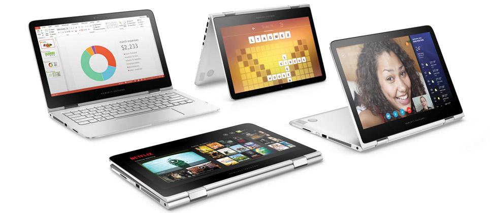 لپ تاپ اچ پی 13.3 اینچی لمسی hp spectre x360 13-dokmeha-965-7