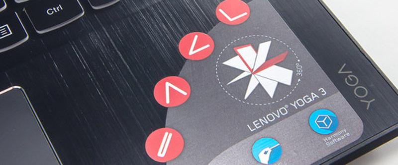 لپ تاپ لنوو یوگا 3 14 اینچی