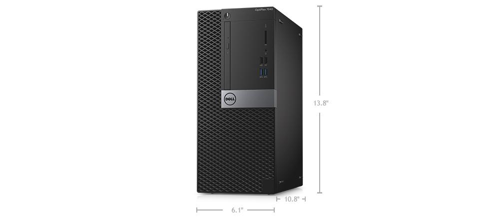 ابعاد و سایز کیس دسکتاپ دل مدل Dell Optiplex 7040 MT