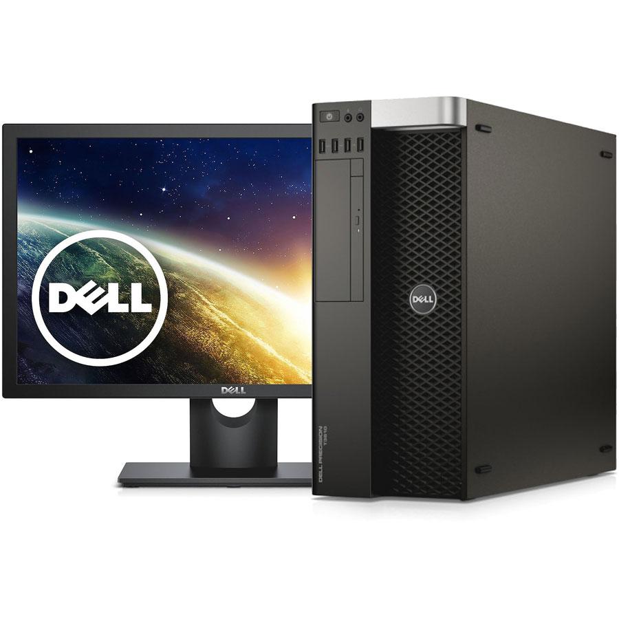کیس و مانیتور حرفه ای دل Dell Precision T3610 + Monitor