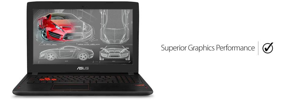 لپ تاپ ایسوس 15.6 مخصوص بازی ASUS ROG STRIX GL502VS-DB71
