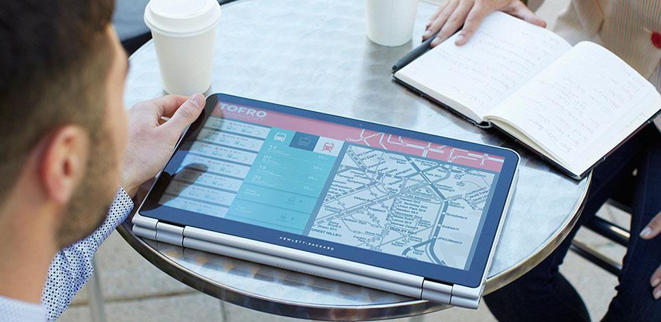 لپ تاپ اچ پی 15.6 اینچی لمسی HP Envy x360 15-w110nr 22