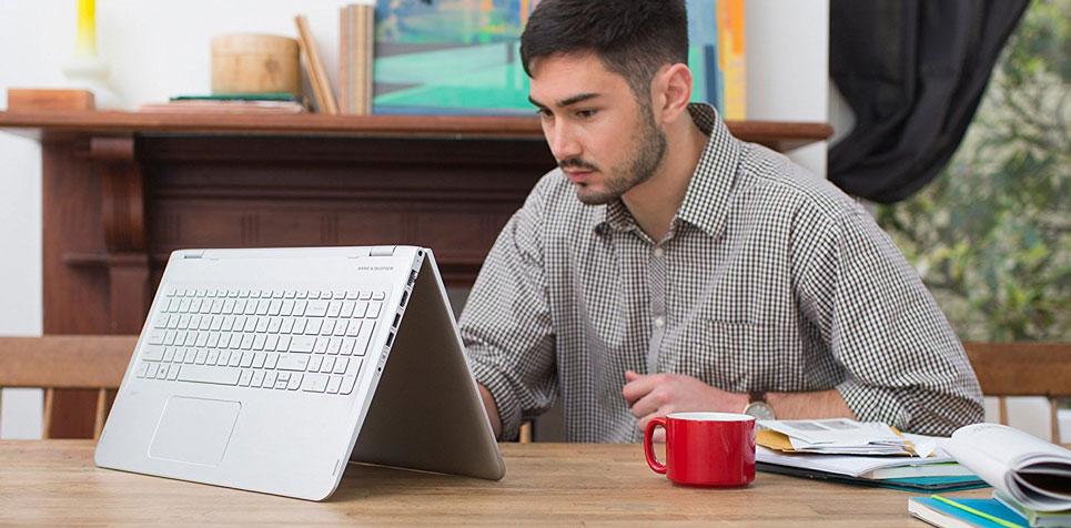 لپ تاپ اچ پی 15.6 اینچی لمسی HP Envy x360 15-w110nr 17