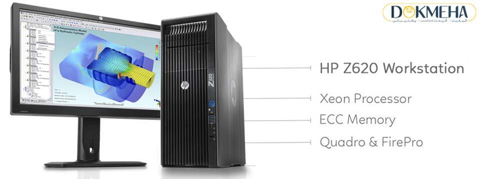کیس اچ پی HP Z620 Workstation Single CPU