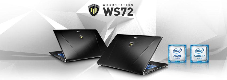 لپ تاپ ورک استیشن MSI WS72 6QJ MSI WS72 6QJ, لپ تاپ ورک استیشن