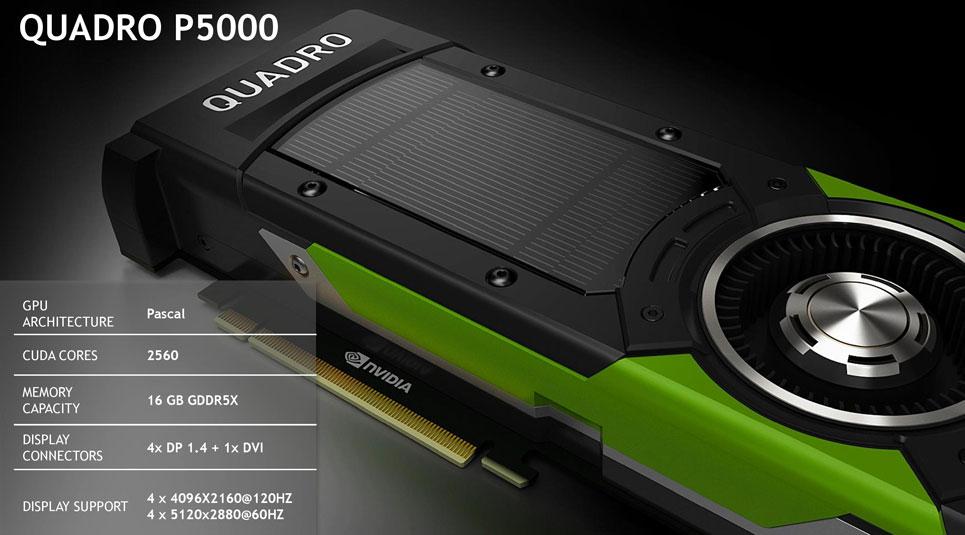 کارت گرافیگ انویدیا کوادرو PNY Nvidia Quadro P5000 16GB 20