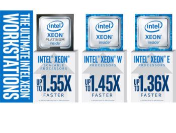 پردازنده رده پایه ورک استیشنی Xeon E-2100 اینتل معرفی شد