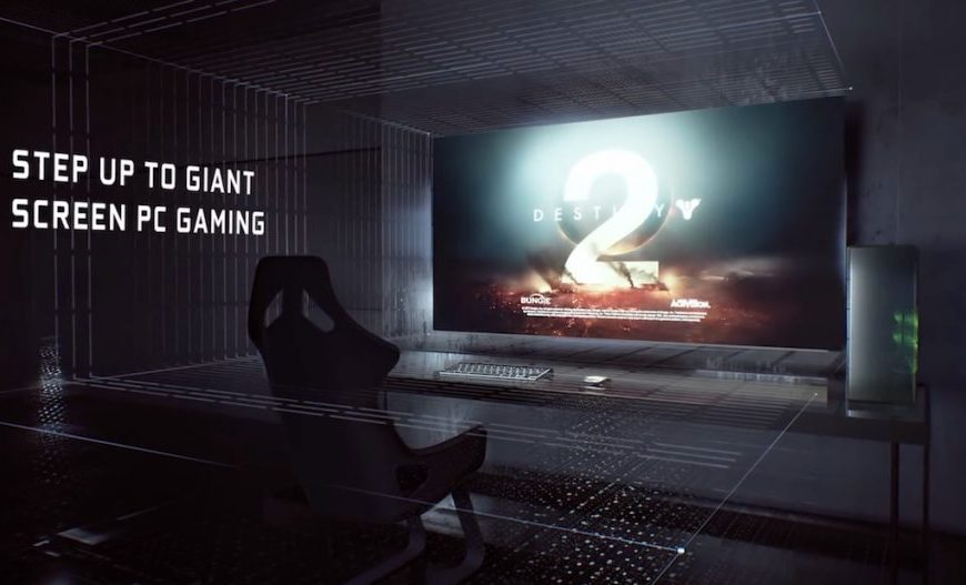 صفحه نمایش گیمینگ بزرگ انویدیا شگفت انگیز است