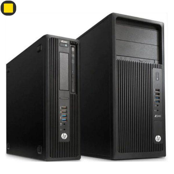کیس ورک استیشن HP Z240 Tower Xeon Workstation 9