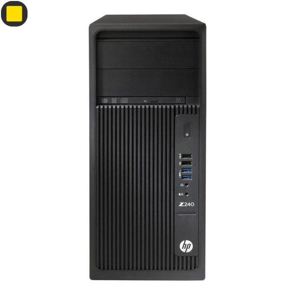 کیس ورک استیشن HP Z240 Tower Xeon Workstation 1