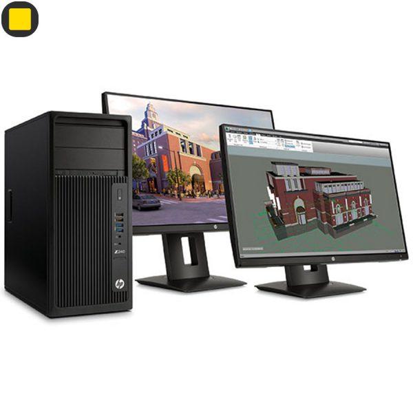 کیس ورک استیشن HP Z240 Tower Xeon Workstation 5