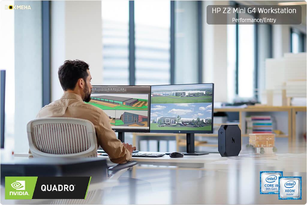 کیس ورکاستیشن اچ پی مینی HP Z2 Mini G4 Performance/Entry Workstation