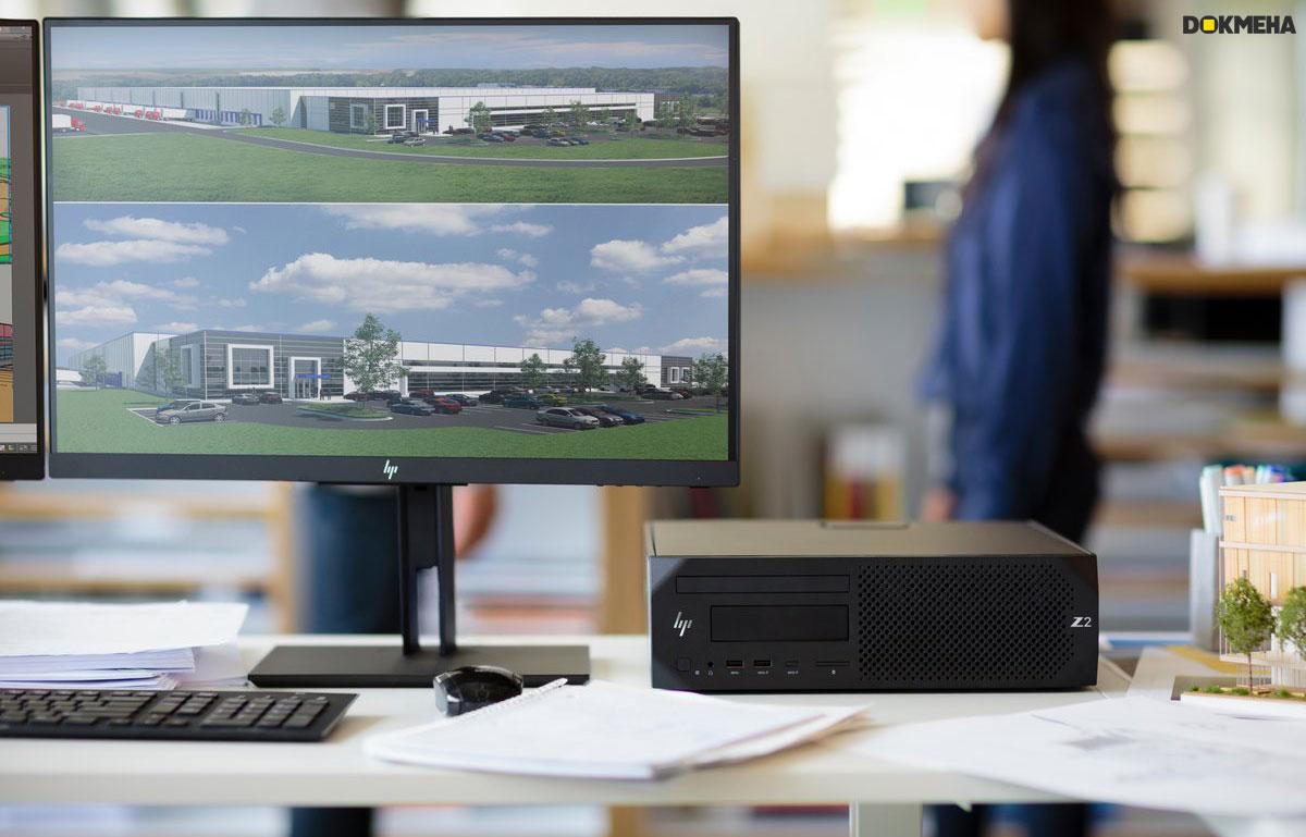 کیس ورک استیشن HP Z2 G4 SFF i5 8th Gen Workstation