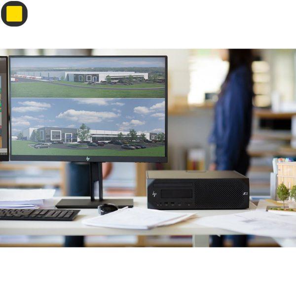 کیس ورک استیشن HP Z2 G4 SFF Core-i7 8th Gen Workstation