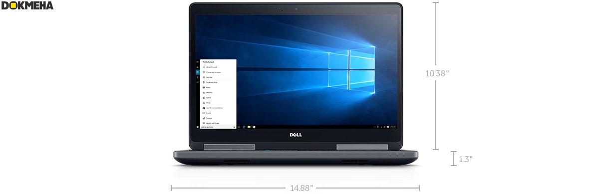 لپ تاپ ورک استیشن دل Dell precision 7510 workstation