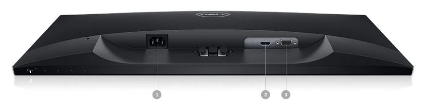 مانیتور دل مدل Dell LED SE2419H سایز 23.8 اینچ