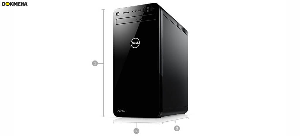 کامپیوتر گیمینگ دل ایکس پی اس Dell XPS 8930 i7-8th Gen Desktop