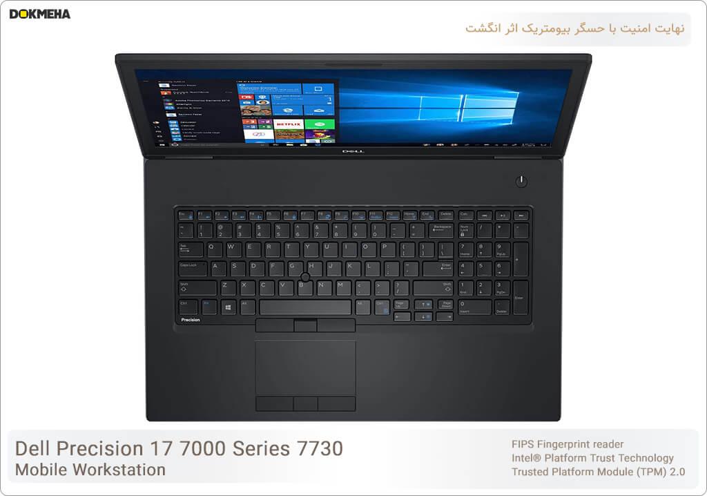 لپتاپ دل پرسیشن Dell Precision 7730