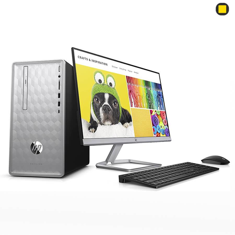 کیس دسکتاپ hp pavilion desktop 590