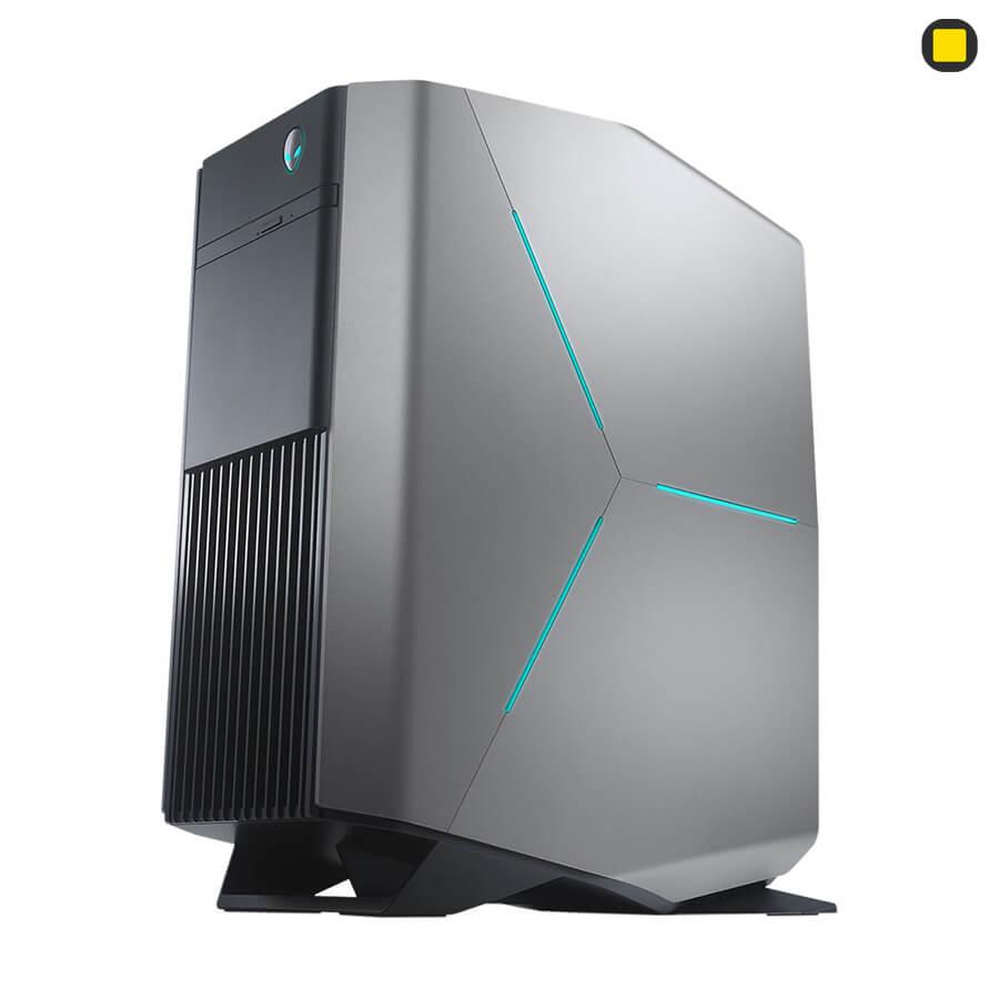 نمای پرسپکتیو کیس گیمینگ آلین ویر Alienware AURORA R7