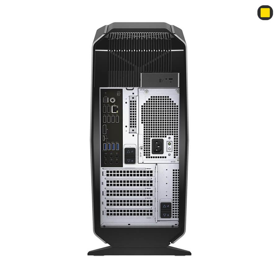نمای پشت کیس گیمینگ آلین ویر Alienware AURORA R7
