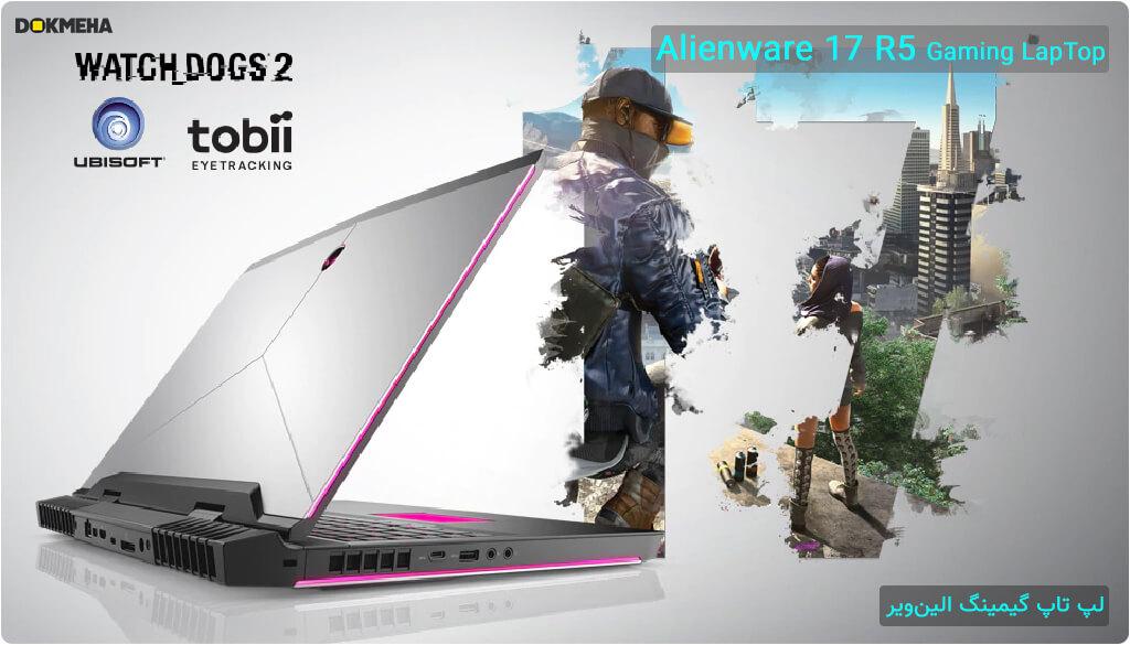 لپ تاپ گیمینگ الین ویر Alienware 17 R5 Gaming نمای جانبی چپ سمت پشت گیمینگ