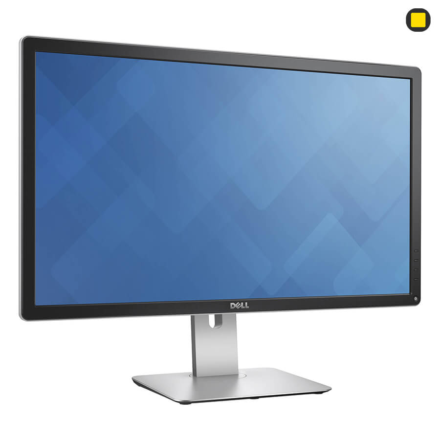 مانیتور دل 27 اینچ Dell P2715Q UHD 4K نمای جانبی چپ روبرو