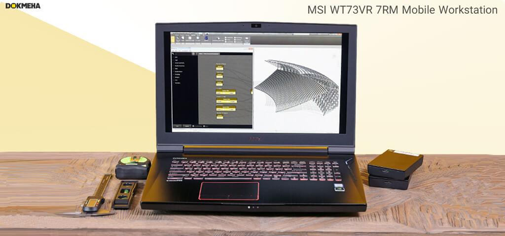 لپ تاپ ورک استیشن MSI WT73VR-7RM