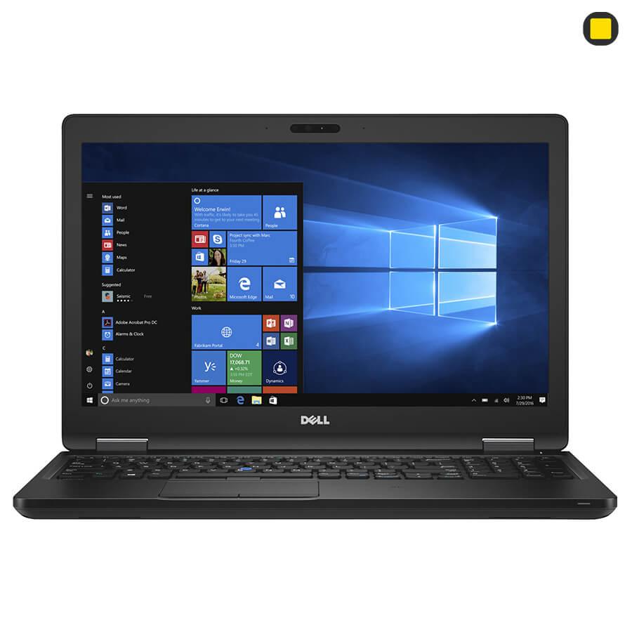 لپ تاپ صنعتی لتیتود دل Dell Latitude 5580 نمای روبرو