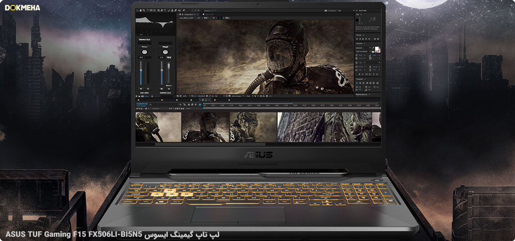 لپ تاپ گیمینگ ایسوس ASUS TUF Gaming F15 FX506LI-BI5N5