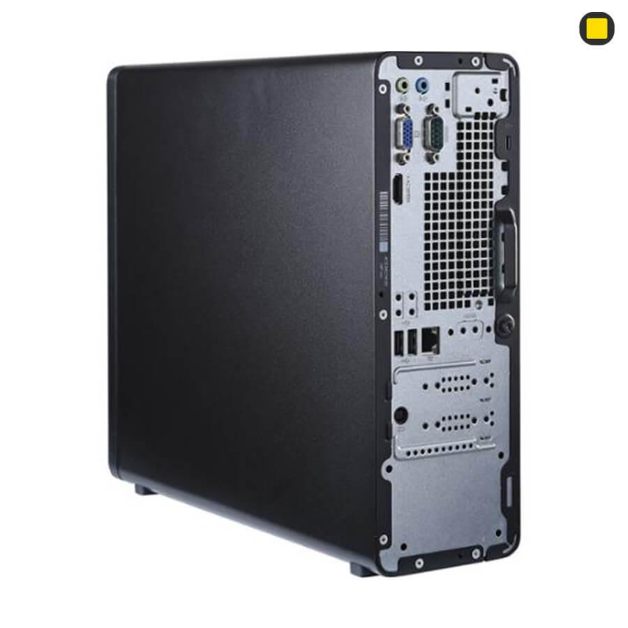 کیس اچ پی پرو دسک HP-Slim-Desktop-S01 نمای پشتی سمت راست