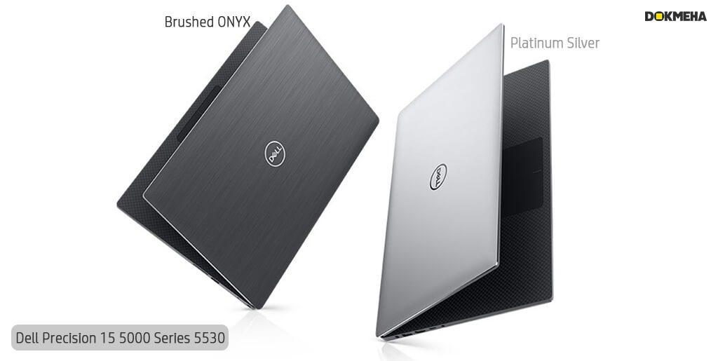لپ تاپ ورک استیشن دل پرسیشن Dell Precision 15 5530 نمای معلق در دو رنگ