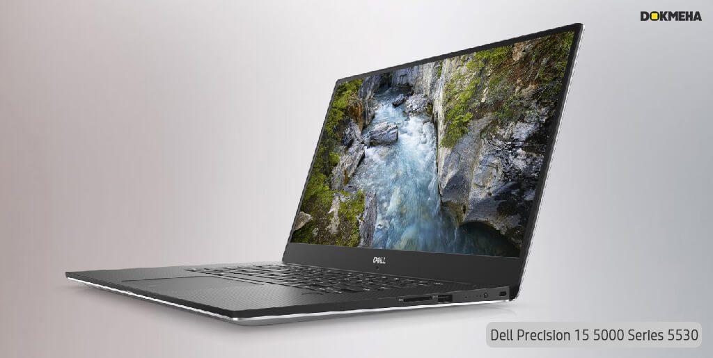 لپ تاپ ورک استیشن دل پرسیشن Dell Precision 15 5530 نمای پرسپکتیو راست