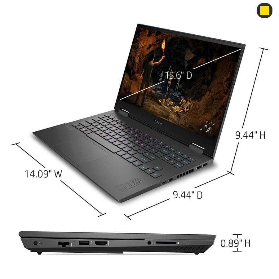 لپ تاپ گیمینگ HP OMEN 15-En0013dx