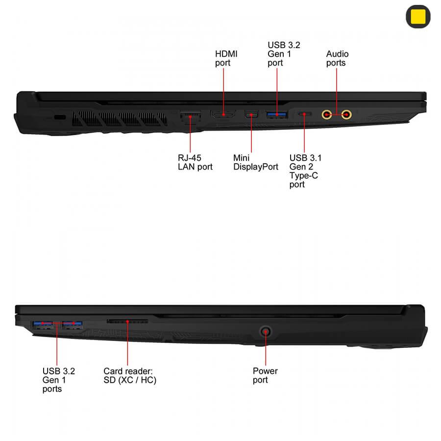 لپ تاپ گیمینگ MSI GL65 Leopard 10SDR-492US