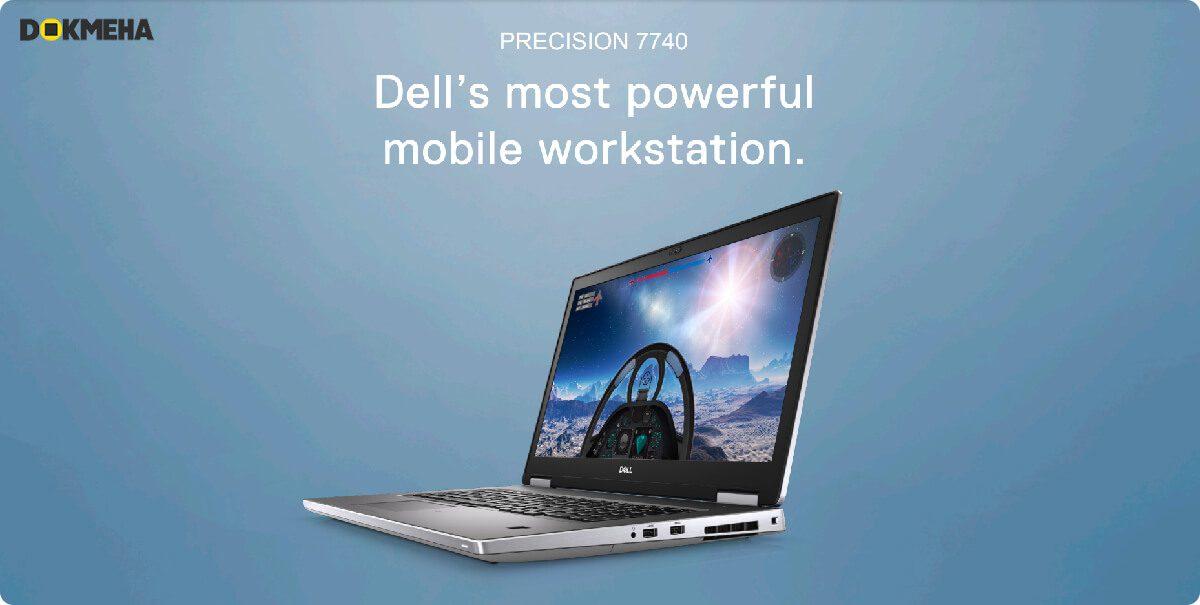 لپ تاپ ورک استیشن دل پرسیشن Dell Precision 17 7740 Mobile Workstation - DELLs Most Powerful