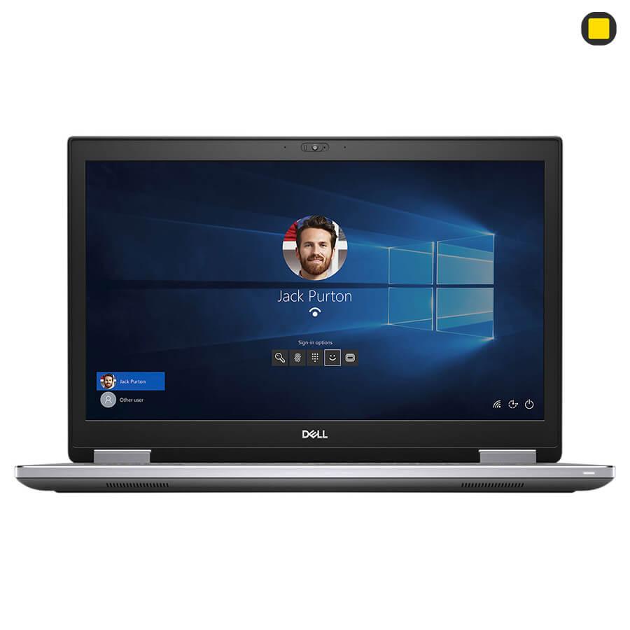 لپ تاپ ورک استیشن دل پرسیشن Dell Precision 17 7740 نمای روبرو