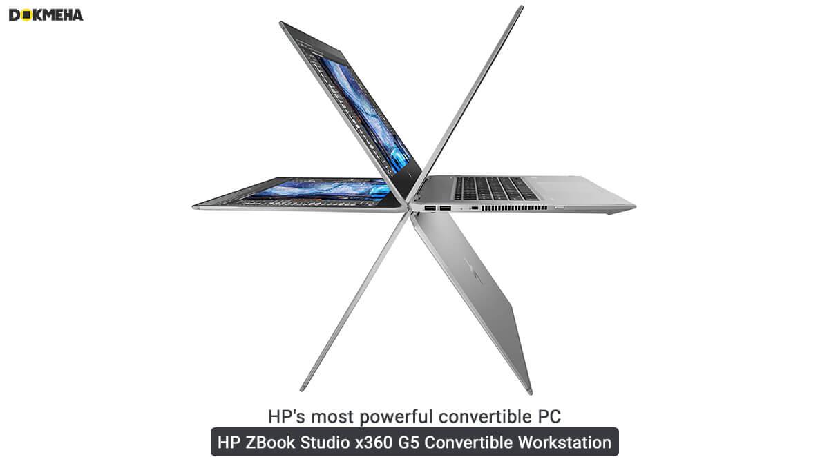 لپ تاپ ورک استیشن اچ پی زدبوک HP ZBook Studio x360 G5 Convertible انواع حالت