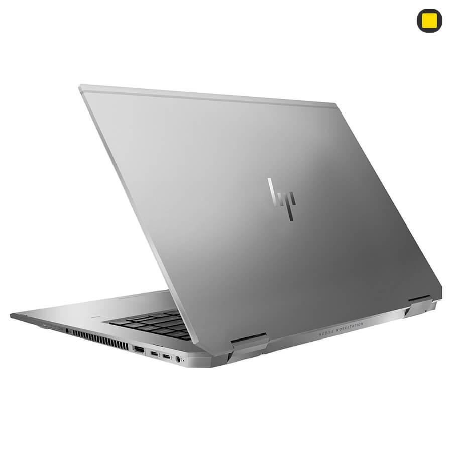 لپ تاپ ورک استیشن اچ پی زدبوک HP ZBook Studio x360 G5 Convertible نمای پشتی سمت راست
