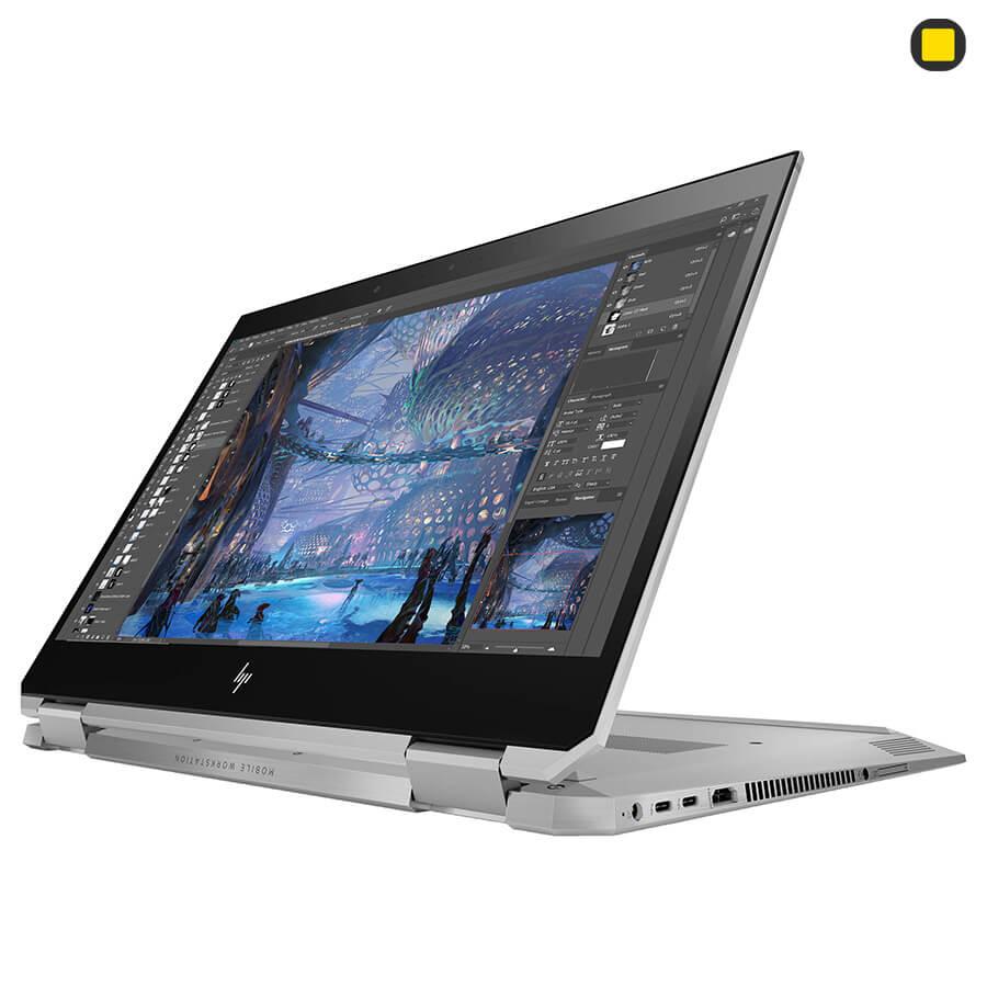 لپ تاپ ورک استیشن اچ پی زدبوک HP ZBook Studio x360 G5 Convertible حالت استند