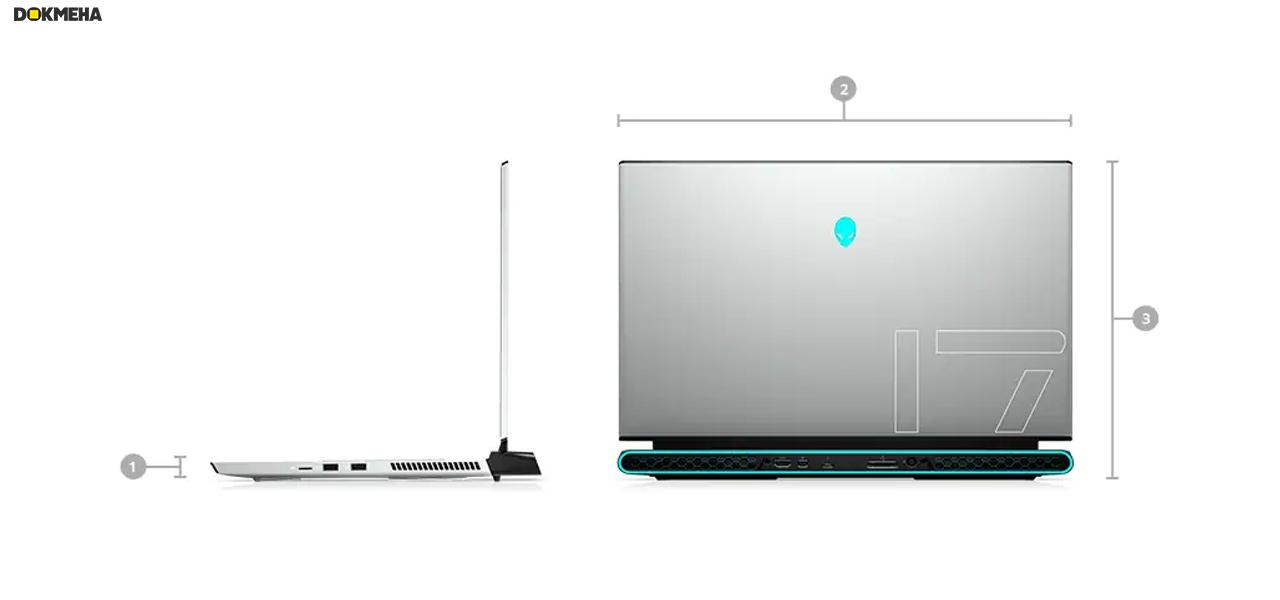 لپ تاپ گیمینگ الین ویر Alienware M17 R3 Gaming