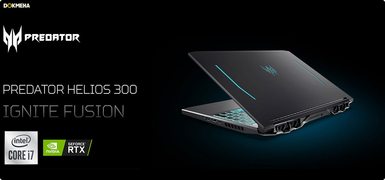 لپ تاپ گیمینگ ایسر Acer Predator Helios 300 PH315-53-71HN