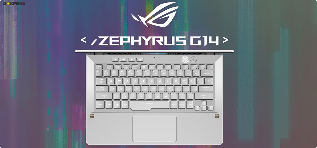 لپ تاپ گیمینگ ایسوس Asus ROG Zephyrus G14 GA401QM-211.ZG14