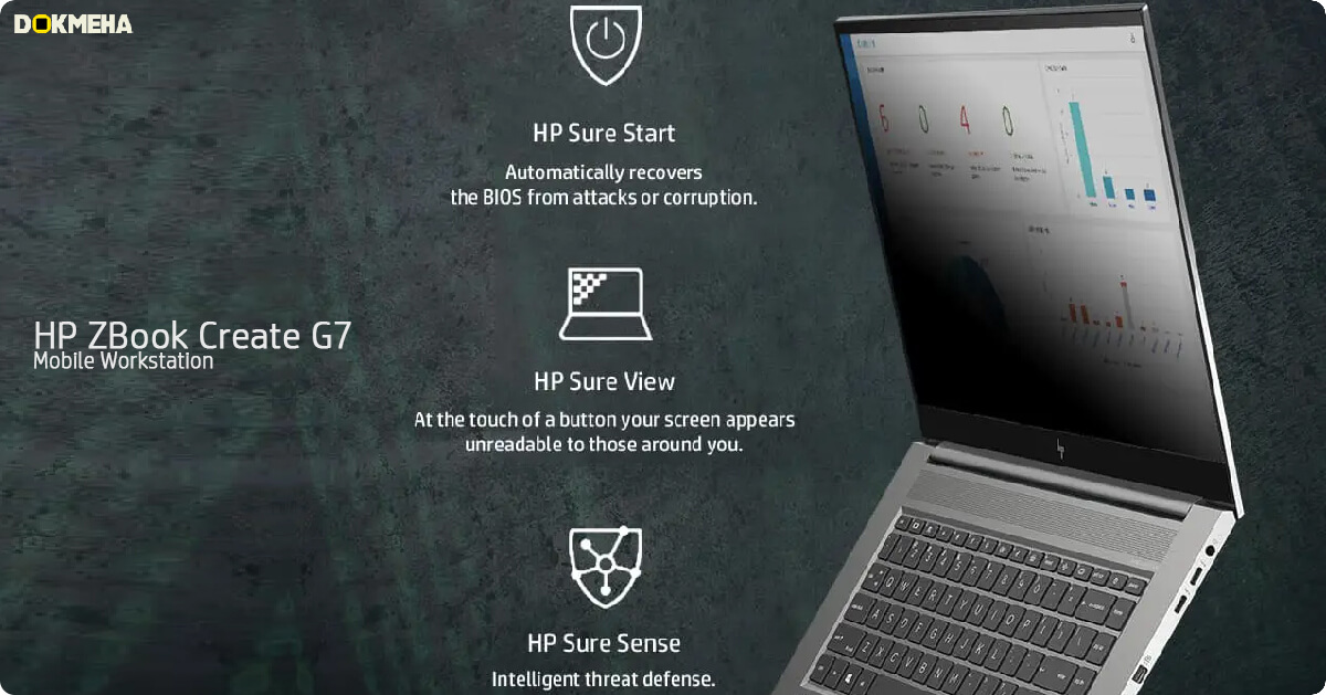 لپ تاپ اچ پی زدبوک HP ZBook Create G7
